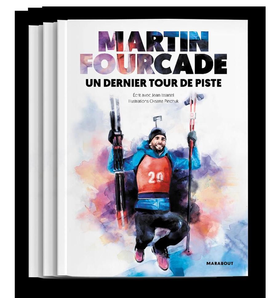 Martin Fourcade - Un dernier tour de piste cover